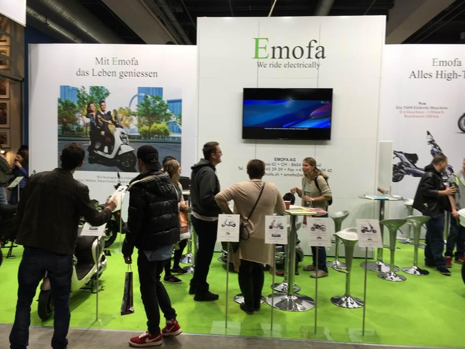 Emofa auf der Swiss Motot